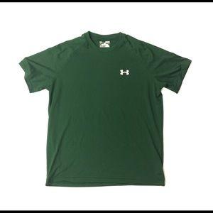 🍀 Under Armour short sleeve t shirt green medium